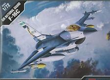 ACADEMY 1:72 AEREO F-16C AIR NATIONAL GUARD 12425