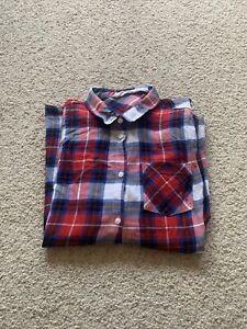 Girls H & M Checked Shirt
