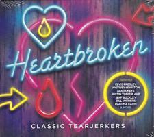 HEARTBROKEN - CLASSIC TEARJERKERS - VARIOUS ARTISTS (NEW SEALED 3CD)