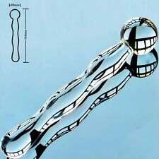 Double Ended Glass Dildo-Sheer - 17cm 170mm