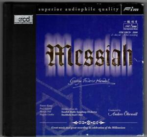 HANDEL:Messiah-LIVE-Ohrwall+Swedish Radio+Yvonne Kenny-XRCD/2-FIM-2CD-JAPAN-OOP!