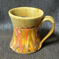 Beautiful Signed King Pottery Coffee Mug, Seagrove NC, NEW
