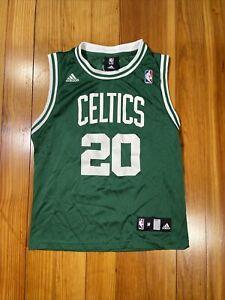 VINTAGE ADIDAS NBA BOSTON CELTICS RAY ALLEN GREEN JERSEY SIZE YOUTH M 10-12