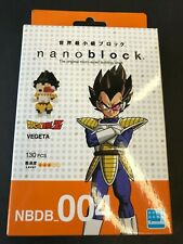 Nanoblock Dragon Ball Z Vegeta 130 pcs Building Block Nbdb-004 In stock
