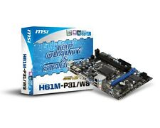 NEW MSI H61M-P31/W8 Motherboard CPU i3 i5 i7 LGA1155 Intel DDR3 SATA LAN VGA DVI