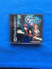 Chrono Cross (Sony PlayStation 1, 2000) black label