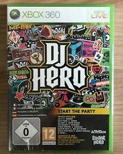 Microsoft Xbox 360 DJ Hero, Brand New Still In Packaging
