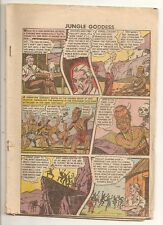D439 Rulah Jungle Godess 23 Fox Coverless Golden Age Comic Book