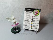 Magneto - 023b Marvel X-Men Xavier's School HeroClix Miniature Prime