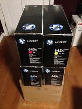 Genuine OEM HP LaserJet 5500 5550 TONER SET 645A C9730A C9731A C9732A C9733A