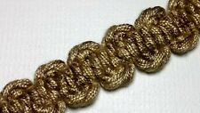 light brown upholstery trim fabric trimming edge per meter 15mm T059