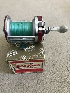 Vintage PFLUEGER Sea King 2288M Conventional Reel made in USA