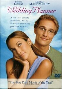 Brand New WS DVD The Wedding Planner Jennifer Lopez Matthew McConaughey