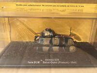 """DIE CAST TANK """" SOMUA S35 1ERE DLM SAINT-OUEN (FRANCE) - 1940  """" SCALA 1/72"""