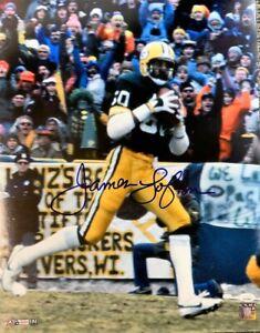 Packers Hall of Famer JAMES LOFTON Signed 16x20 Photo #7 AUTO - JSA