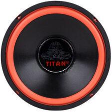 "NEW Cerwin Vega Style 10"" Subwoofer Woofer Speaker Red Surround High Bass"