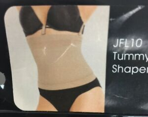 Julie France Leger Tummy Shaper Ultralight Size 3XL Plus JFL10 Seamless Nude C8