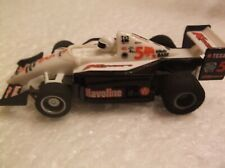 tyco slot car f-1 indy # 5 k-mart texaco, 440x2 chassis ho 1/64 afx scale,nice
