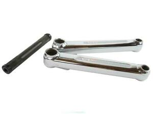 Haro Lineage Bolt Cranks 175mm Chrome Old Mid New School BMX Peregrine Redline