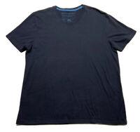 Banana Republic Men's Soft-Wash Tee Basic V-Neck Shirt Size XL Black