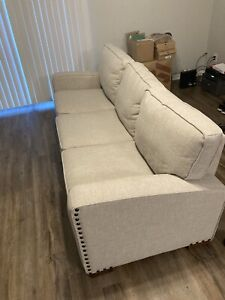 Light Beige Sofa