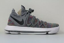 Nike Zoom KD 10 Multi Color Cool Grey 897815-900 Size 10 Kevin Durant