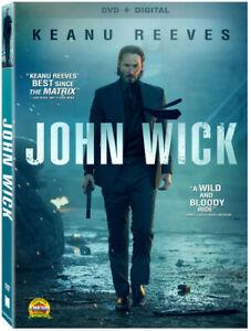John Wick [DVD + Digital] - DVD -  Very Good - Dean Winters,Michael Nyqvist,Lanc