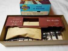 HO TRAIN ATHEARN 50' STEEL AUTOMOBILE BOXCAR KIT DENVER & RIO GRANDE D&RGW MINT!