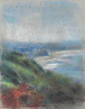 NEWPORT BEACH Seascape California Impressionist Landscape Pastel Painting a day