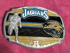 JACKSONVILLE JAGUARS PLAYER BELT BUCKLE NFL BUCKLES NEW