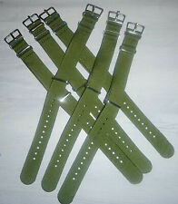 WATCH STRAP - OD - ARMY - MILITARY - GREEN - BAND - 9 Inches - MENS USSF - 6635