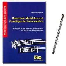 Elementare Musiklehre und Grundlagen der Harmonielehre - 9783934958005