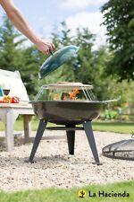 La Hacienda pizza steel firepit/barbecue 58157