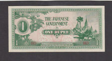 1 RUPEE AUNC-UNC BANKNOTE FROM JAPANESE OCCUPIED BURMA 1942 PICK-14