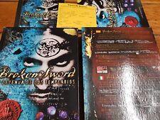 PC Broken Sword la leyenda de los templarios primera edición completo