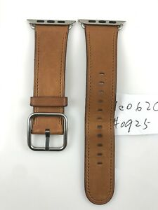 Original Apple Watch Series 7 6 5 4 3 Classic Buckle Leather Band 42MM 44MM 45MM