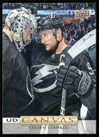 2019-20 Upper Deck UD Canvas #C10 Steven Stamkos - Tampa Bay Lightning