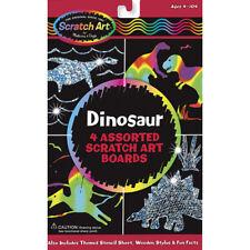 Melissa and Doug Dinosaur Kids Scratch Art Set - Arts and Crafts for Children