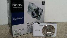 Sony Cyber-shot DSC-WX100 18,2 MP Digitalkamera - Weiß