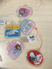 Sanrio Trinket Hello Kitty Cinnamoroll Melody Sugarbunnies Magnet Complete Set
