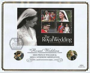 GRENADA GRENADINES 15 SEPT 2011 ROYAL WEDDING M/SHEET O/S VLE FIRST DAY COVER