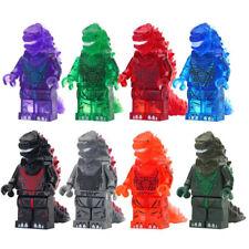 Red Lotus Godzilla Japan Animations Lego Moc Minifigure Toys Gift Kids Large