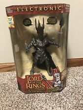 2002 Lord of Rings Electronic Sauron