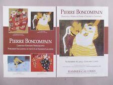 Pierre Boncompain Art Gallery Exhibit Double-Page PRINT AD - 2004