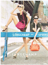 PUBLICITE ADVERTISING 094  2012   LONGCHAMP   collection sacs