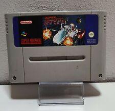 Super R-Type-original Super Nintendo SNES módulo a7551