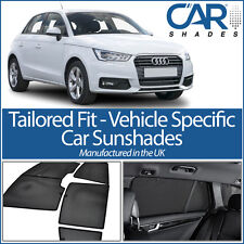 Audi A1 5dr 10 On UV CAR SHADES WINDOW BLINDS PRIVACY GLASS TINT BLACK