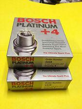 BOSCH PLATINUM +4 SPARK PLUG 4448 in ORIGINAL BOX (1 set of 8 PLUGS) 0242229622