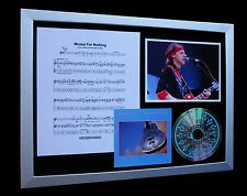 DIRE STRAITS Money For Nothing QUALITY CD MUSIC FRAMED DISPLAY+FAST GLOBAL SHIP