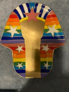 Jonathan Adler Sphinx Trinket Tray Dish Brand New in Gift Box